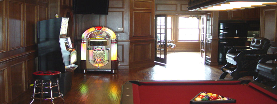 Game Room with Juke Box & Video