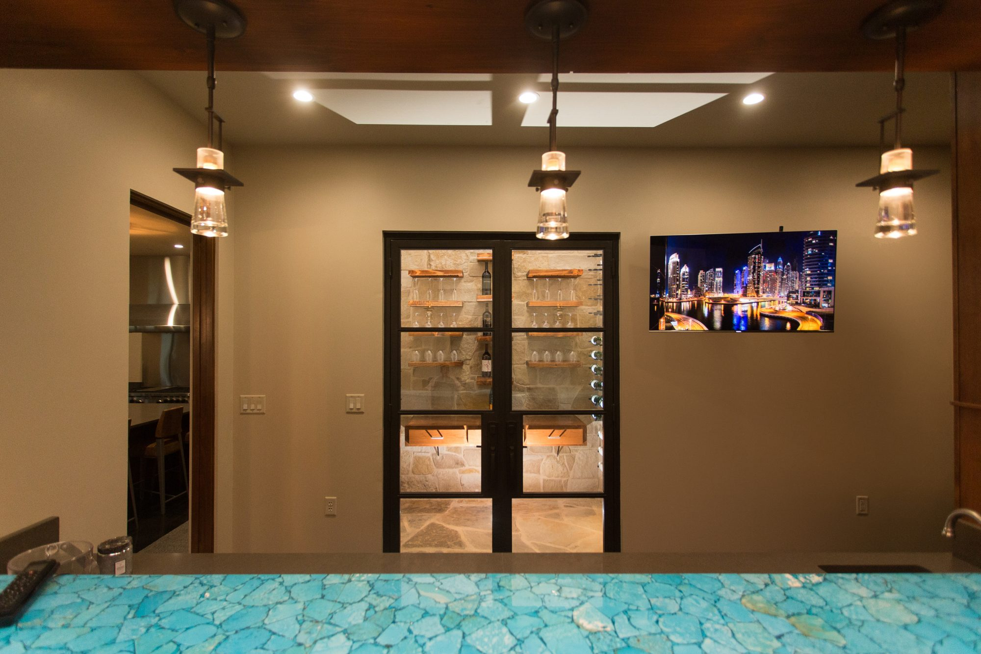 Wine Closet and Bar