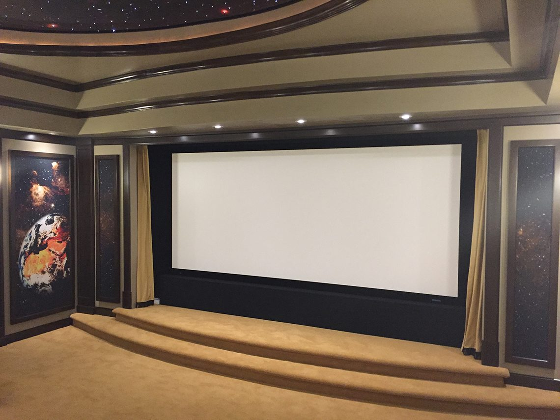 "180"" Home Theater Screen"